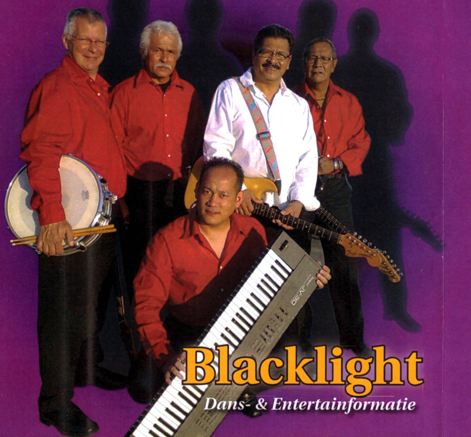 Indo Rock Band Blacklight Carel Kdise Stephan